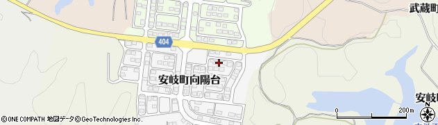 大分県国東市安岐町向陽台4周辺の地図
