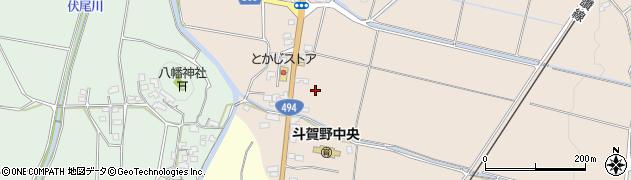 高知県高岡郡佐川町東組二の部丁周辺の地図