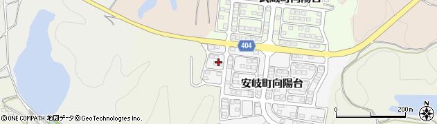 大分県国東市安岐町向陽台14周辺の地図