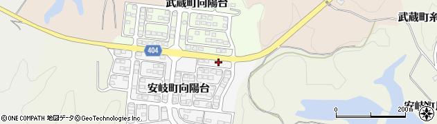 大分県国東市安岐町向陽台2周辺の地図