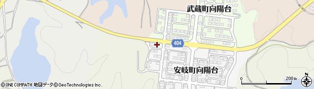 大分県国東市安岐町向陽台12周辺の地図