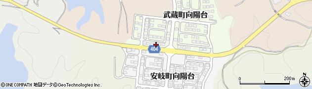 大分県国東市武蔵町向陽台13周辺の地図