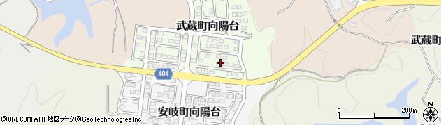 大分県国東市武蔵町向陽台4周辺の地図