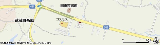 大分県国東市武蔵町糸原3963周辺の地図