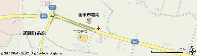 大分県国東市武蔵町糸原4140周辺の地図