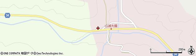 大分県国東市安岐町山浦525周辺の地図