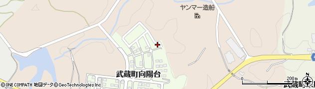大分県国東市武蔵町向陽台11周辺の地図