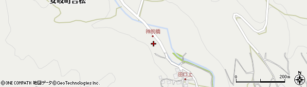 大分県国東市安岐町吉松2936周辺の地図