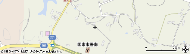 大分県国東市武蔵町糸原3985周辺の地図