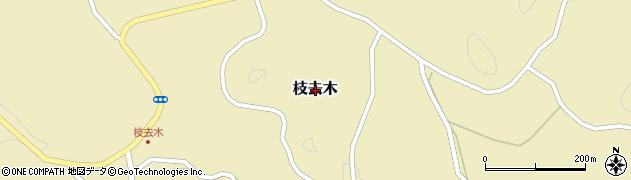 佐賀県唐津市枝去木周辺の地図