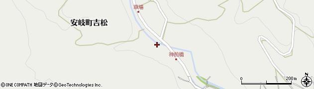 大分県国東市安岐町吉松2736周辺の地図