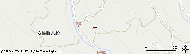 大分県国東市安岐町吉松2586周辺の地図