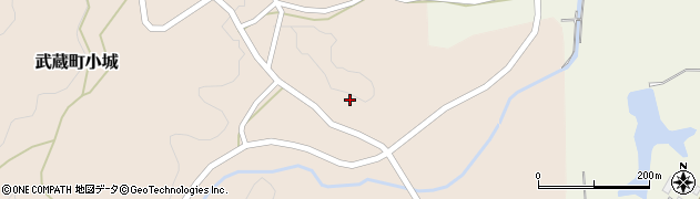 大分県国東市武蔵町小城658周辺の地図