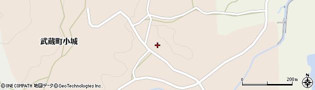 大分県国東市武蔵町小城631周辺の地図