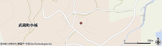大分県国東市武蔵町小城626周辺の地図
