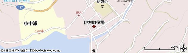 愛媛県伊方町(西宇和郡)周辺の地図