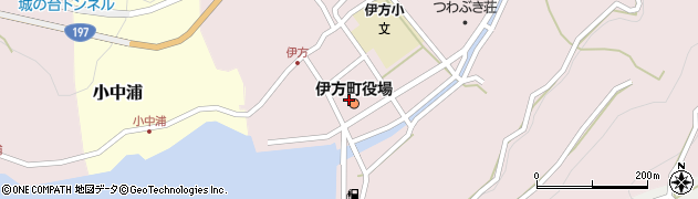 愛媛県西宇和郡伊方町周辺の地図
