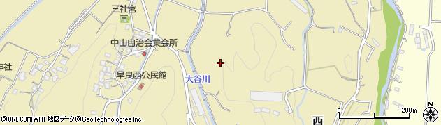 福岡県福岡市早良区西周辺の地図