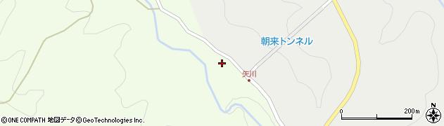 大分県国東市安岐町矢川187周辺の地図