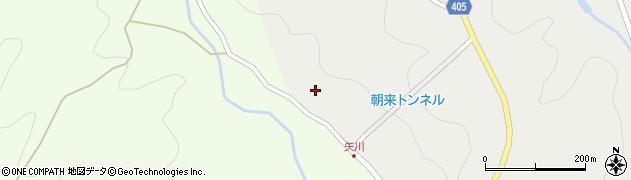 大分県国東市安岐町矢川208周辺の地図