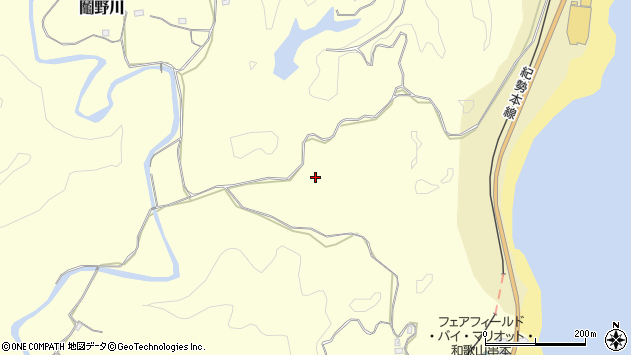 〒649-3511 和歌山県東牟婁郡串本町鬮野川の地図