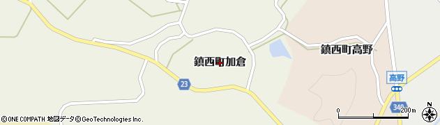 佐賀県唐津市鎮西町加倉周辺の地図