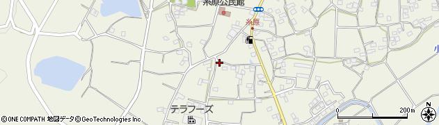 大分県国東市武蔵町糸原1243周辺の地図