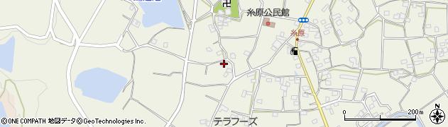 大分県国東市武蔵町糸原1067周辺の地図