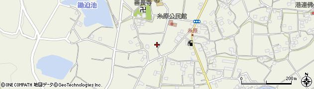 大分県国東市武蔵町糸原1139周辺の地図