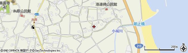 大分県国東市武蔵町糸原1713周辺の地図