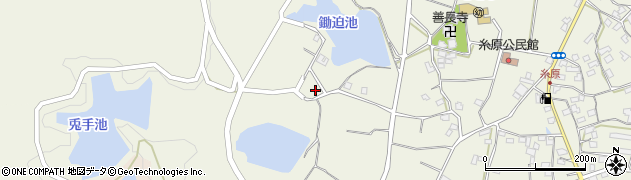 大分県国東市武蔵町糸原1014周辺の地図