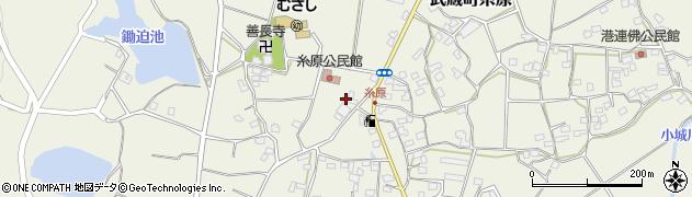 大分県国東市武蔵町糸原478周辺の地図