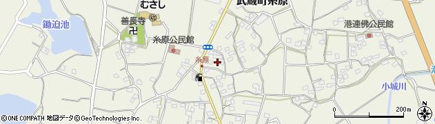大分県国東市武蔵町糸原1432周辺の地図