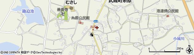 大分県国東市武蔵町糸原1428周辺の地図