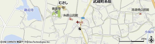 大分県国東市武蔵町糸原477周辺の地図
