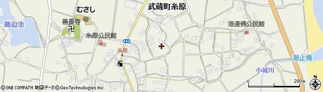 大分県国東市武蔵町糸原1522周辺の地図