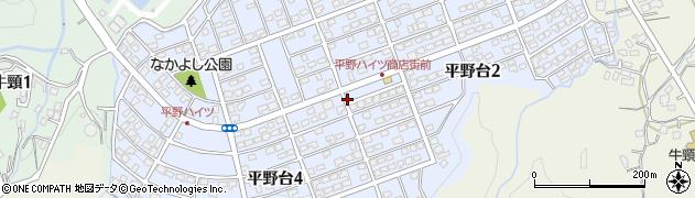 福岡県大野城市平野台周辺の地図