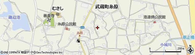 大分県国東市武蔵町糸原1446周辺の地図