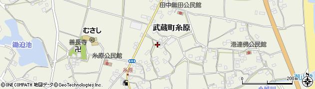 大分県国東市武蔵町糸原1464周辺の地図