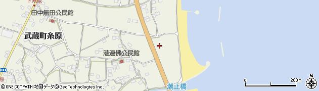 大分県国東市武蔵町糸原1878周辺の地図