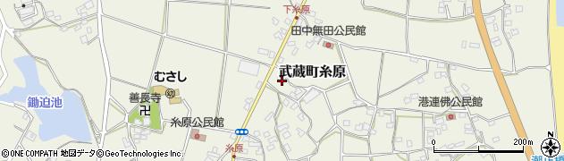 大分県国東市武蔵町糸原1467周辺の地図