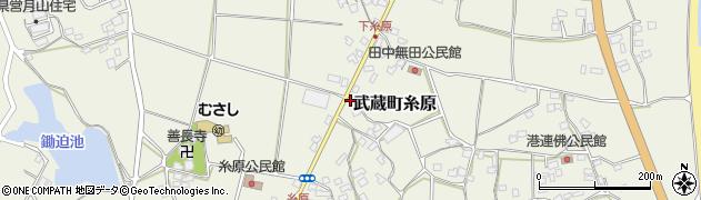 大分県国東市武蔵町糸原1471周辺の地図