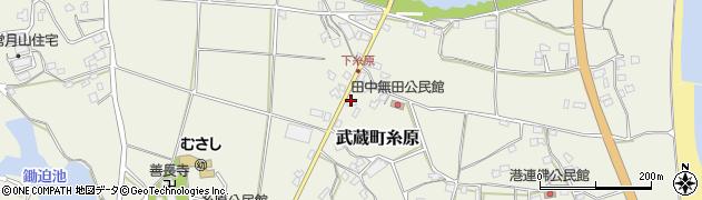 大分県国東市武蔵町糸原304周辺の地図