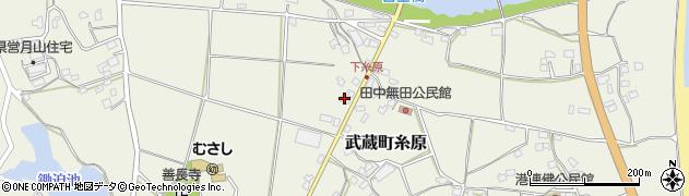 大分県国東市武蔵町糸原306周辺の地図