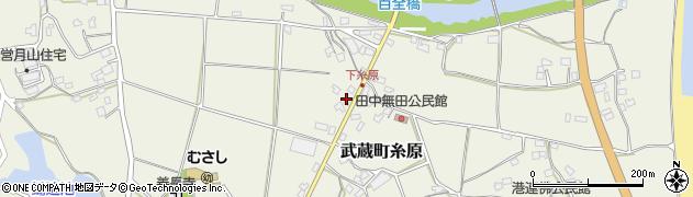 大分県国東市武蔵町糸原305周辺の地図