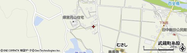 大分県国東市武蔵町糸原705周辺の地図