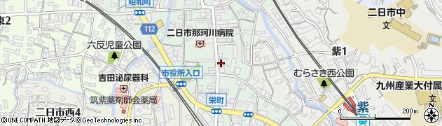 ほっと二日市周辺の地図