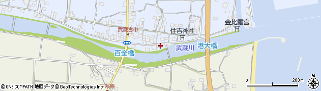 大分県国東市武蔵町古市565周辺の地図
