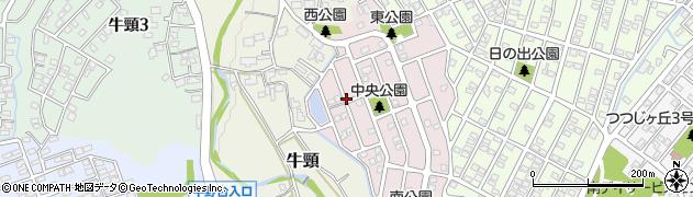 福岡県大野城市宮野台周辺の地図