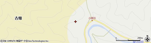 高知県高岡郡佐川町本郷耕松ノ木周辺の地図